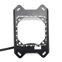 EK-Velocity AMD Mounting Plate + LED D-RGB